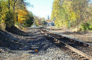 Railroad Tracks in Wabash